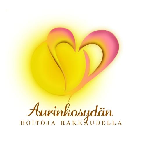 Aurinkosydän - logo