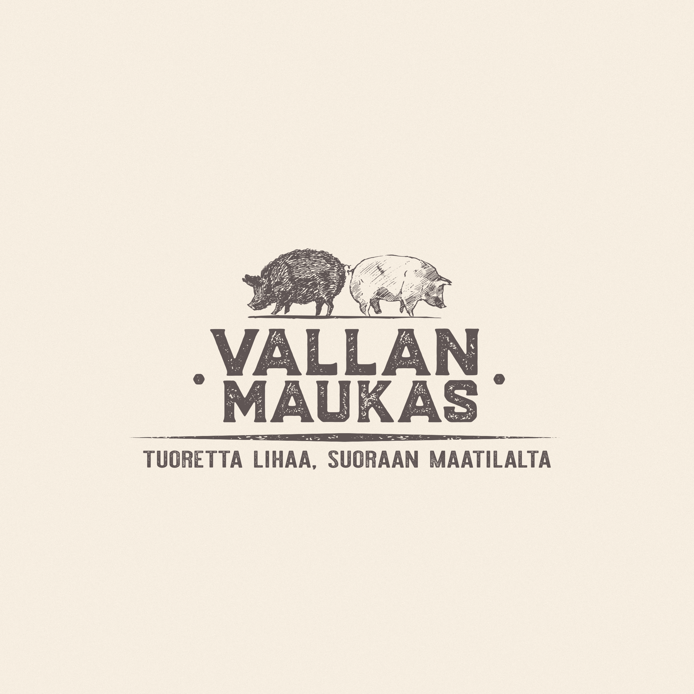 VALLAN MAUKAS - logo tausta