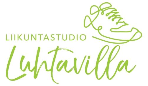 Luhtavilla - logo vihreä